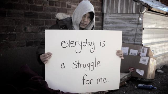 Homeless LGBT Youth – Personal Stories Project